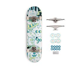 Check out the design, Cosmos Skateboard, on blakejones – available on a range of custom products