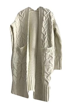 M/&S/&W Womens Long Sleeve 3 Buttons Loose Knitwear Hooded Cardigan