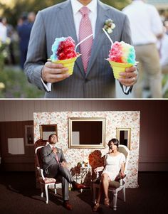ohmigoodness. love this (the sno cones). perfect for a texas summer wedding? i think yes.