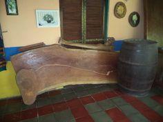 Tablón para mesa de madera de Almendro Macho o de Rio