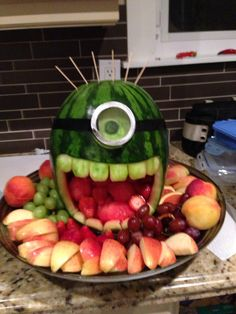 Watermelon minion