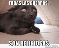 ... Todas las guerras... son religiosas.