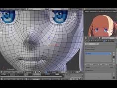 This video will demonstrate how you can rig faces in Blender using Shapekeys and Drivers. The model we use is the anime style face from the last few videos.