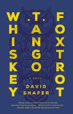 Whiskey Tango Foxtrot by David Shafer (5 stars, jan15) - I read this book for What's In A Name reading challenge & honestly didn't even read the summary just started reading. SO glad I did. Great book from start to finish. Well written, fantastic characters far from the usual or stereotypical, awesome female characters, great plot. By the time I realized I only had 30 pages left I was torn between the excitement of getting to the end & the sadness of realizing the book was going to be over.