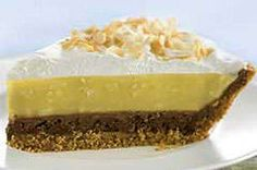 Easy Toasted Coconut Pie