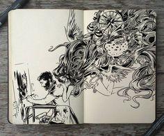 n°4 L'arte è un disegno, che fa chiunque, per sfogarsi per esprimersi .