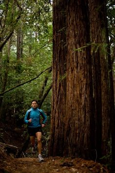 If you enjoy running but you don't enjoy running on roads, try trail running!