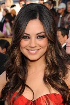 #hair mila kunis all-the-pretty-colors