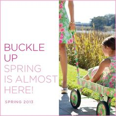 We are waiting for ya spring!!