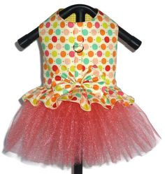 Dog Clothes Pattern 1701 Tutu Dog Dress for the by SofiandFriends❤❤❤