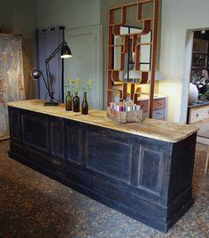 comptoir de commerce en bois comptoir bar pinterest de commerce commerce et comptoir. Black Bedroom Furniture Sets. Home Design Ideas