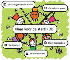 Voorbeeld van een onderbouw-wereld die je kunt maken aan de start van het schooljaar.
