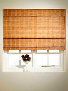 Decorar el dormitorio con persianas de bambú