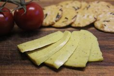 Chickpea and hemp seed cheese