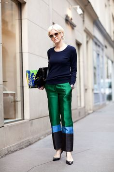 good pants. Paris.