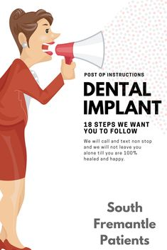 The 18 Steps to Post Dental Implant Surgery care at Dental Implant Placements Perth with Dr Jose Nunes for Healing from the first hour Affordable Dental Implants, Dental Implant Surgery, Dental Services, Perth, Healing, Watch, Phone, Link, Youtube