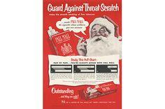 vintage smoking posters Even Santa wants you to smoke! 50's ad