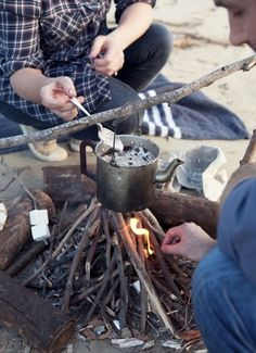 Camp Fire Hot Chocolate
