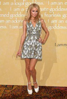 Pin for Later: La NYFW Est Sans Aucun Doute L'évènement le Plus Chic de la Saison Paris Hilton