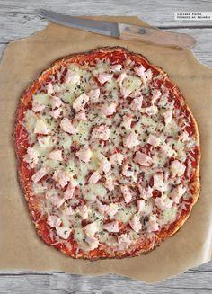 Te explicamos paso a paso, de manera sencilla, la elaboración de la receta de pizza con base de coliflor. Ingredientes, tiempo de elaboración