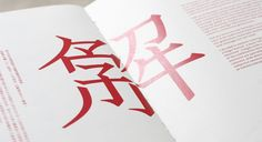 Chinese typography / 解字