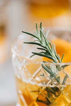 This honey bourbon cocktail with rosemary simple syrup is just the right amount of sweet!