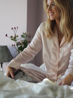 The joy of getting cosy with the White Company Silk Pajamas, Pyjamas, Teen Fashion, Fashion Beauty, Congested Skin, Chloe Boots, Asos Skirts, Cashmere Jumper, Skin Serum