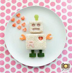 Leckeres Roboter-Brot #liekenurkorn