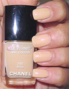 Chanel Polish Beige Chanel Nail Polish, Chanel Nails, Huda Beauty Makeup, Pedi, One Color, Nail Colors, Lips, Shades, Skin Care