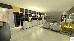 Iniciando a série dos projetos do Salão de Beleza, hoje vamos de Recepção. Projeto criado por Rangel Produções e Design de interiores www.rangelproducoesedesigndeinteriores.com rangel@rangelproducoesedesigndeinteriores.com