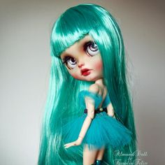 available. Emerald City custom Blythe doll in by KarolinFelix