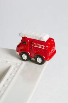 Nora Fleming Fire Truck Mini