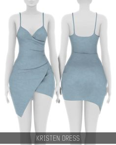 Sims 4 CC's - The Best: Kristen Dress by SIMPLICIATY