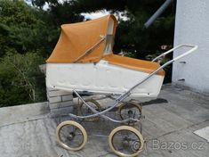 Starý, retro kočárek Liberta - 1 Prams, Retro, Baby Strollers, Children, Pram Sets, Archive, Baby Prams, Young Children, Boys