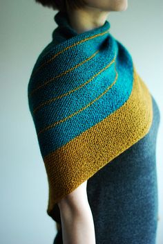 Striped Study Shawl...