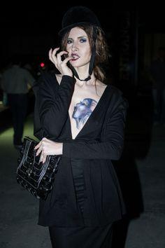 Iulia Albu.. flapper style :)   chest tattoo.... Flapper Style, Chest Tattoo, Picture Tattoos, Pattern, Collection, Fashion, Pictures, Moda, Fashion Styles