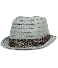 Straw Fedora Hat at Buckle.com