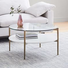West Elm offers modern furniture and home decor featuring inspiring designs and colors. Create a stylish space with home accessories from West Elm. West Elm, Walnut Coffee Table, Diy Coffee Table, Round Glass Coffee Table, Mid Century Art, Mid Century Style, Living Furniture, Home Furniture, Modern Furniture