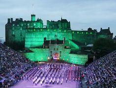 Royal Military Tattoo at Edinburgh Castle