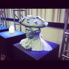 3D Printed Art Bust - on display at the Art Exhibit at the 3D Printing Rapid 2012 Show in Atlanta