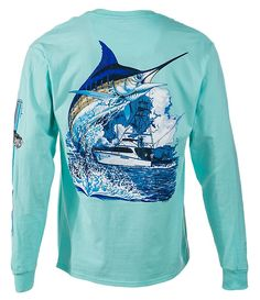 Guy Harvey Marlin Boat Long-Sleeve T-Shirt for Men | Bass Pro Shops: The Best Hunting, Fishing, Camping & Outdoor Gear