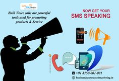 Bulk Voice calls are powerful tools used for promoting products and in disseminating messages and information. Know more detail visit : http://www.bulksmsindia.biz/