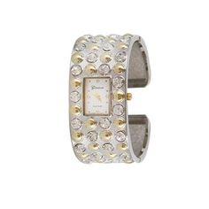 Shyanne® Women's Studded Cuff Watch