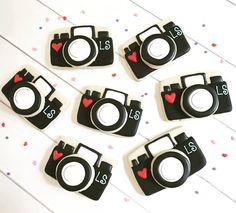 Camera Cookies | Photographer Cookies | Photography Cookies | One Dozen