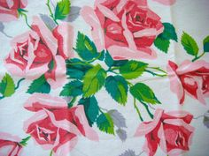 vintage rose fabric - Google Search
