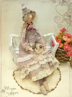 Великолепные куклы в стиле Тильда - девушки в неповторимых нарядах Бохо, домашние феечки - кофейные и радужные тильды, куклы из новой коллекции Candy.