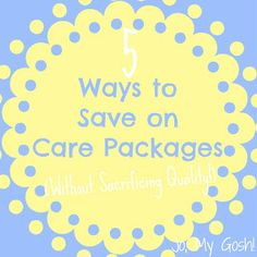 Jo, My Gosh!: 5 Ways to Save on Care Packages (Without Sacrificing Quality! Deployment Care Packages, Deployment Gifts, Military Gifts, Military Spouse, Military Families, Ways To Save, 5 Ways, College Mom, Navy Life
