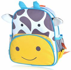zaino skip hop zoo pack scuola bambino bambina bambini animali vacca asilo nido