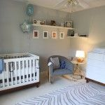 Shelf placement for nursery