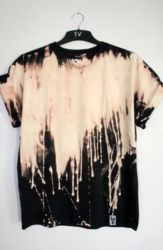 Bleach Drip Black Shirt